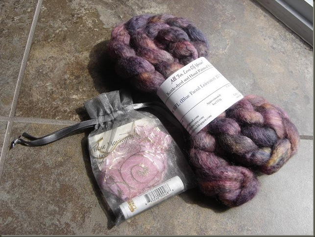 Purple Butterfly BFL Silk Kit