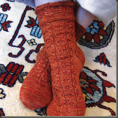 salor socks from Silk Road Socks